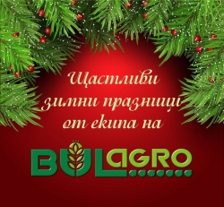 Happy winter holidays from the team of Bulagro!